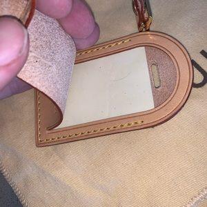Louis Vuitton Accessories - Authentic Louis Vuitton luggage tag purse charm